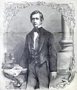 """Hon. William H. Seward, Secretary of State – From a photograph by Brady"""